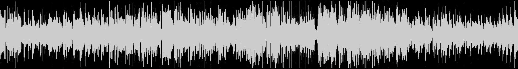 ほんわかサックスのジャズ ※ループ仕様版の未再生の波形