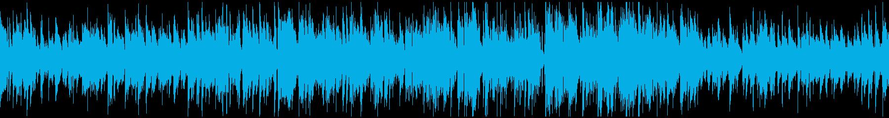 ほんわかサックスのジャズ ※ループ仕様版の再生済みの波形