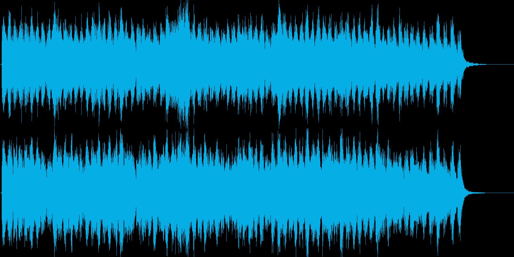 威風堂々 エルガー 第1番 主調部(サビの再生済みの波形