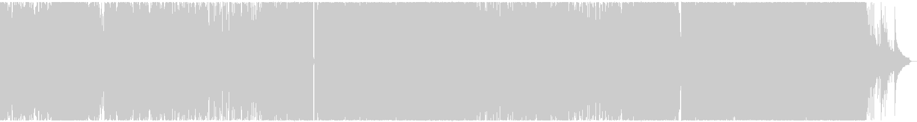 幻想的なオープニングBGMの未再生の波形