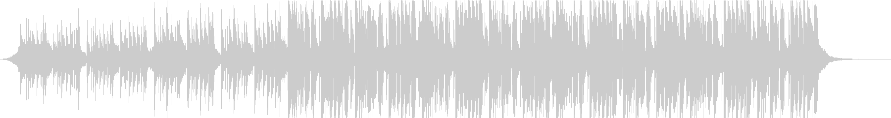 キャッチーなトロピカル系ダブステップの未再生の波形
