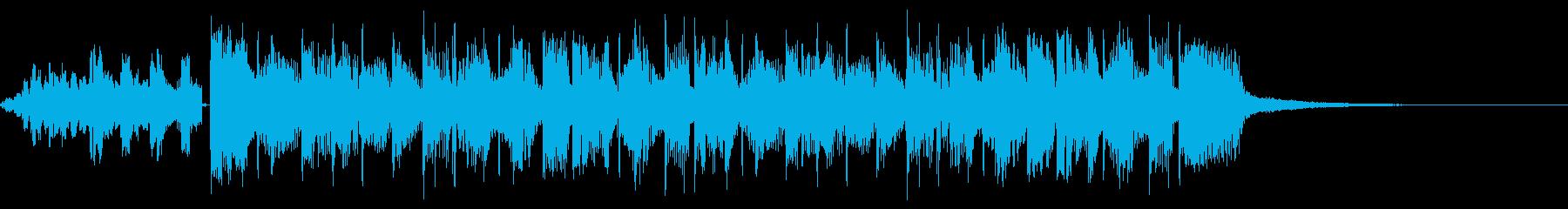 巻き上げALT。混合の再生済みの波形
