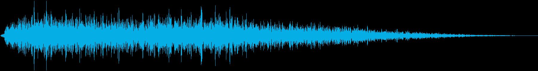 大規模な水中爆発水中爆発、地震、火山の再生済みの波形