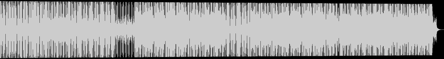 緊迫感・緊張のあるテクノBGM シリアスの未再生の波形