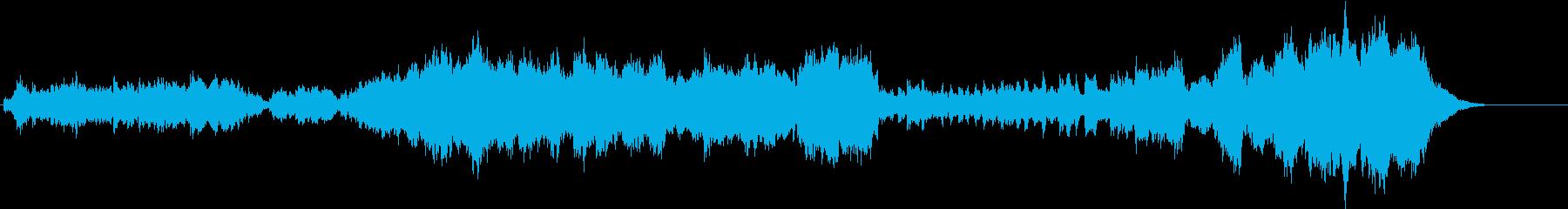 プリンセスをイメージした夢溢れるBGMの再生済みの波形