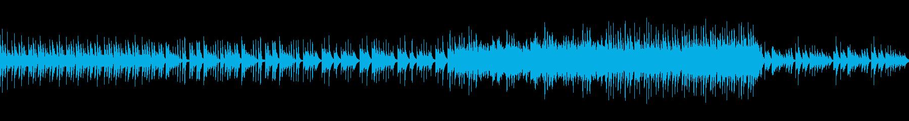 木琴を使った推理・不穏・疑心・不思議の曲の再生済みの波形