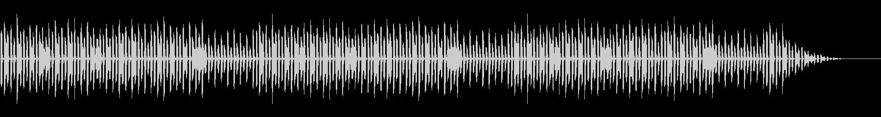年末年始の定番「第九」脱力系アレンジの未再生の波形
