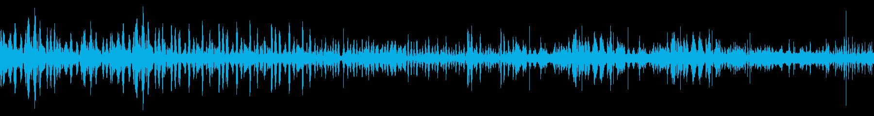 波2の再生済みの波形