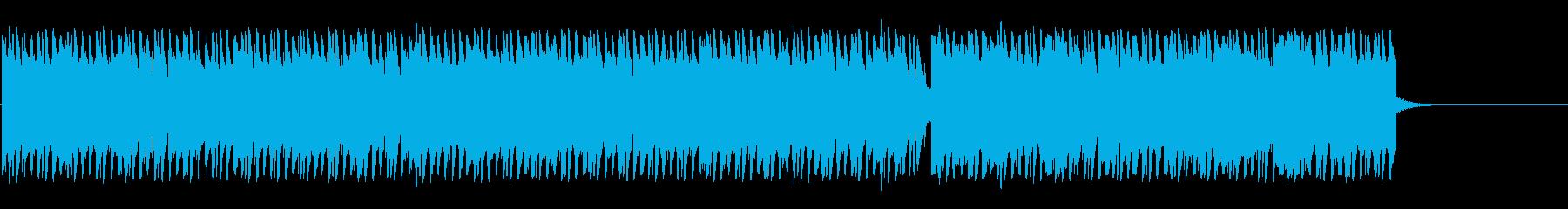 かなり緩めのハウスの再生済みの波形