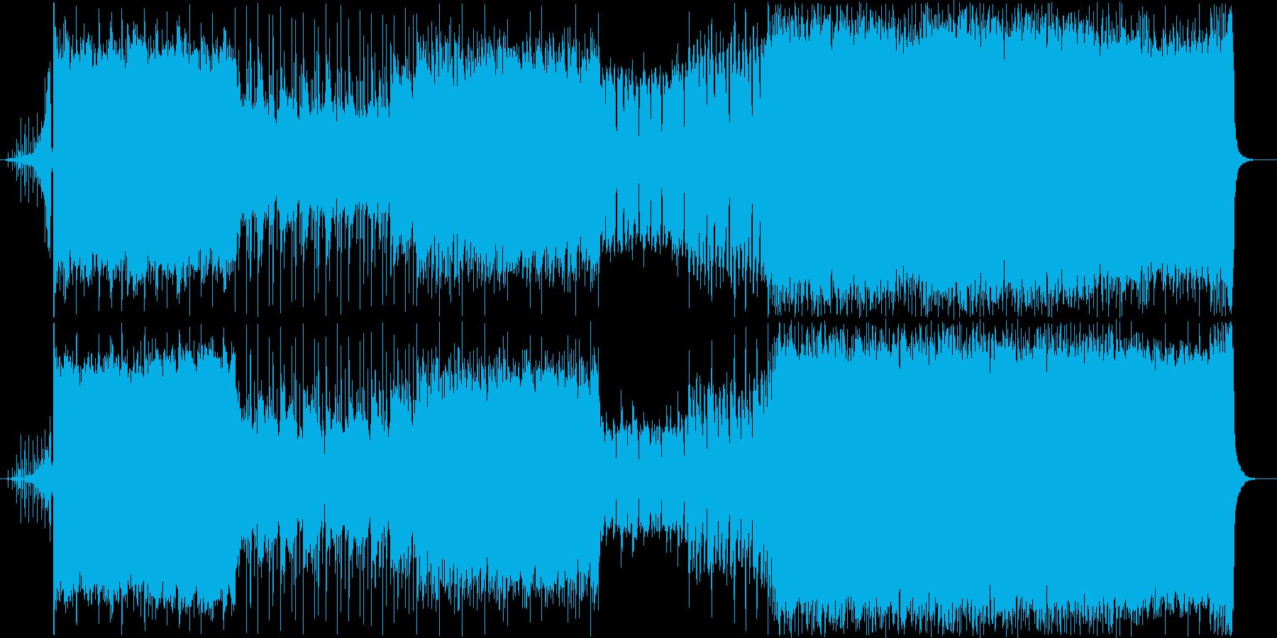 爽やかで切ない春の三拍子ピアノロックの再生済みの波形