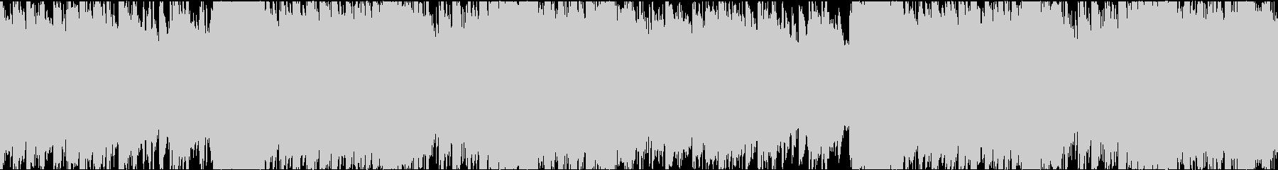 某CyberPunkアニメ風の未再生の波形