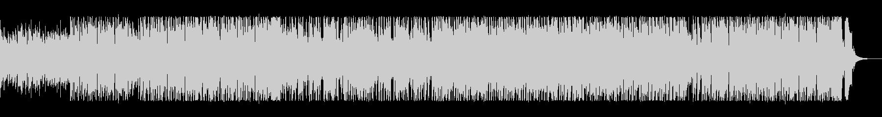 軽快なピアノの伴奏が挑発的なポップスの未再生の波形