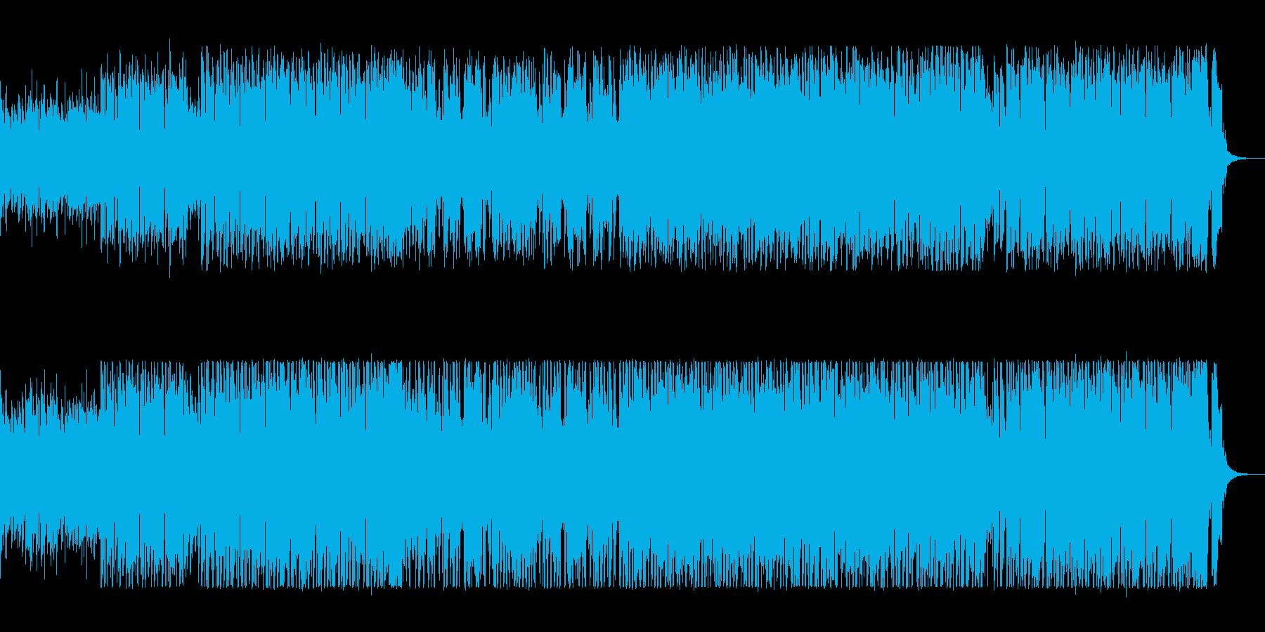 軽快なピアノの伴奏が挑発的なポップスの再生済みの波形