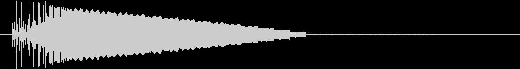 【ゲームボーイ/スタート、ピコーン】の未再生の波形