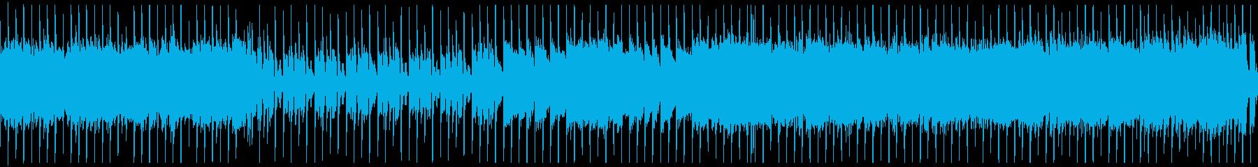 Chiptune four-on-the-floor lock loop's reproduced waveform