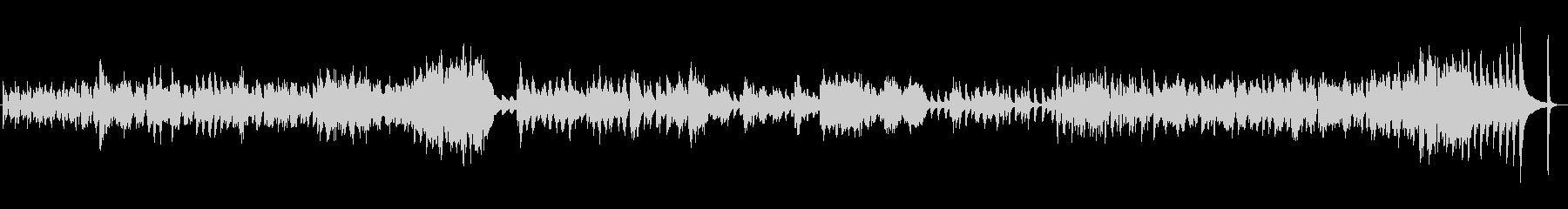 ドビュッシー小組曲2番「行列」の未再生の波形