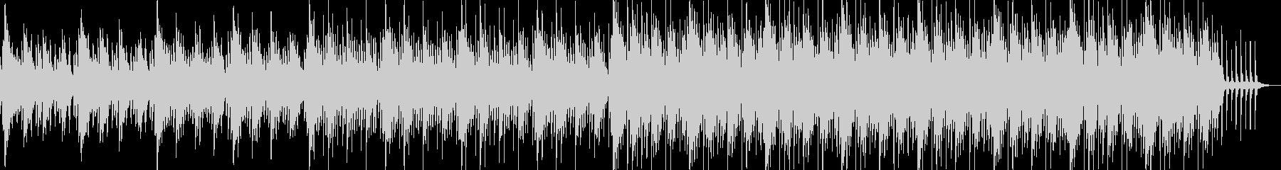 ポップで可愛らしい雰囲気のBGMの未再生の波形
