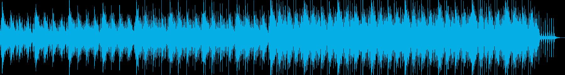 ポップで可愛らしい雰囲気のBGMの再生済みの波形