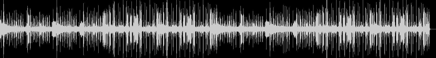 ファンク・フュージョンっぽいブラスの曲の未再生の波形