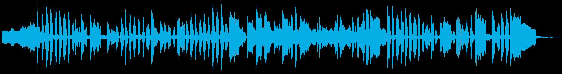 アボカドをテーマにした楽曲の再生済みの波形