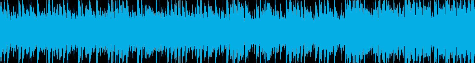 テクノ、ロック、ビッグビート、イン...の再生済みの波形