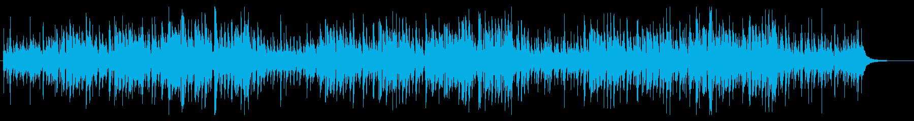 一風変わったハワイアン風クリスマスソングの再生済みの波形