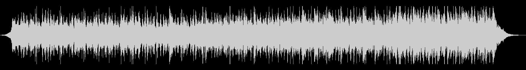 伝統的なフォークミュージックの未再生の波形