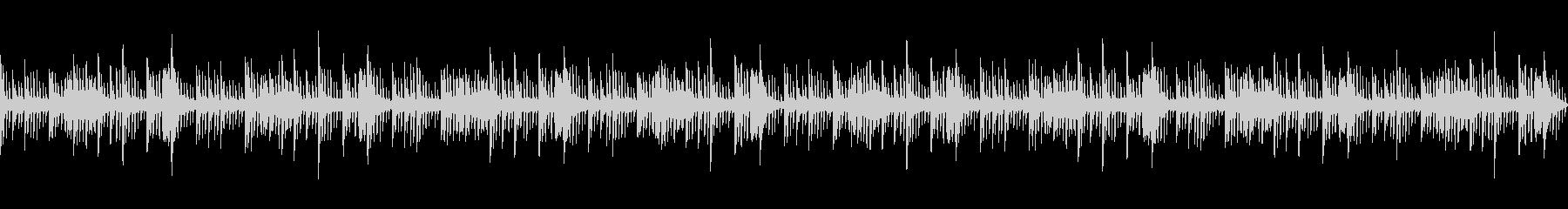 ピアノで奏でる幻想的なヒーリングBGMの未再生の波形