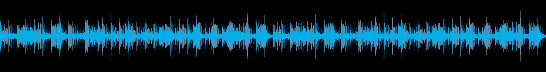 ピアノで奏でる幻想的なヒーリングBGMの再生済みの波形