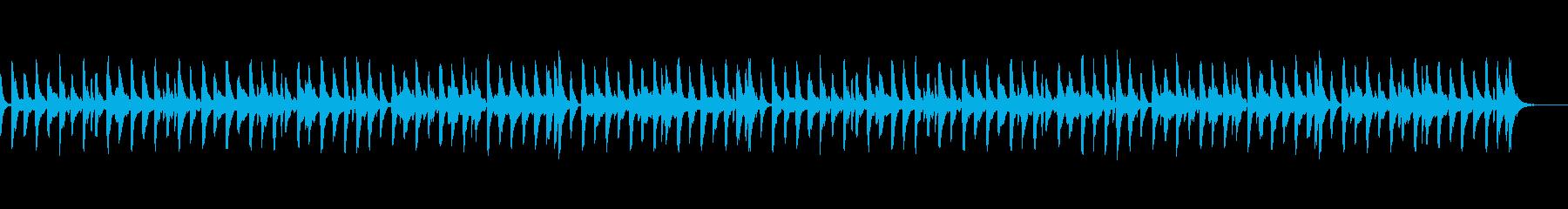 ほのぼのとした散歩のような弦とVib.の再生済みの波形