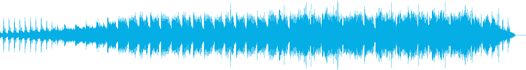不協和音、不安、ギャップ、カットの再生済みの波形