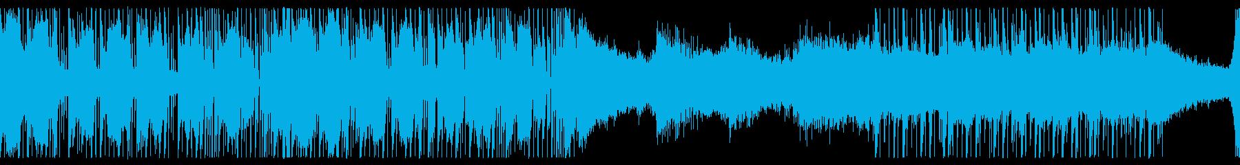 実験的な フューチャ ベース アク...の再生済みの波形