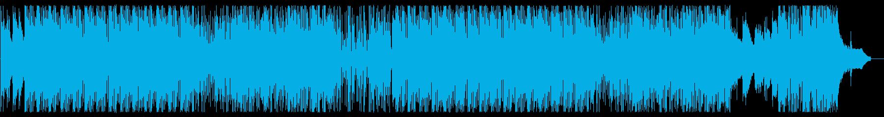 風景や日常を演出するBGMの再生済みの波形