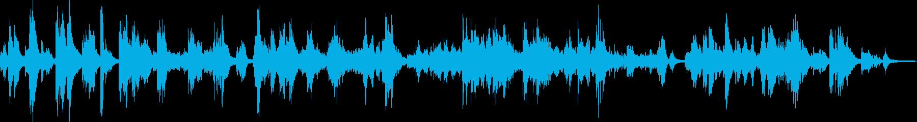 エレガンスで舞うようなピアノ曲(明るめ)の再生済みの波形