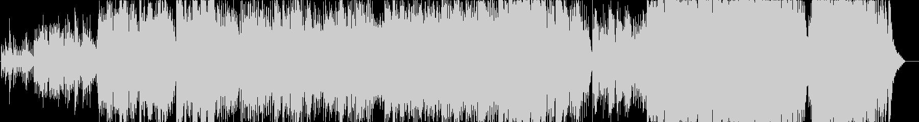 ピアノとアコギ主体のメロディアスバラードの未再生の波形