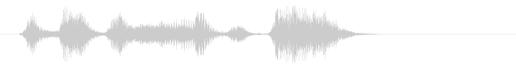 コンピューター、男性の声:ディフレ...の未再生の波形