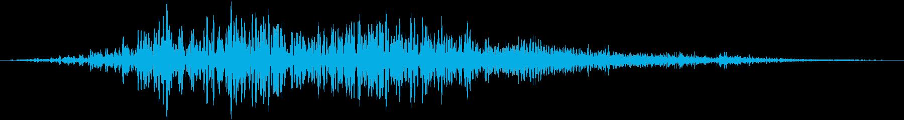 オフィスチェア:ロールアクロスハー...の再生済みの波形