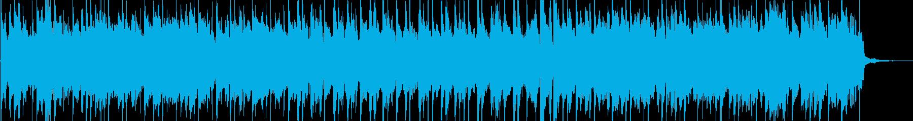 子供用のご機嫌な雰囲気のBGMの再生済みの波形