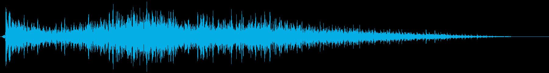 【映画演出】シーン_12 バトルの再生済みの波形