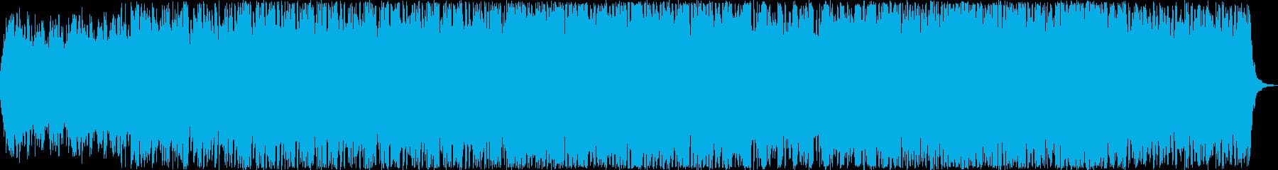 神秘的な映像・映画にマッチする曲の再生済みの波形