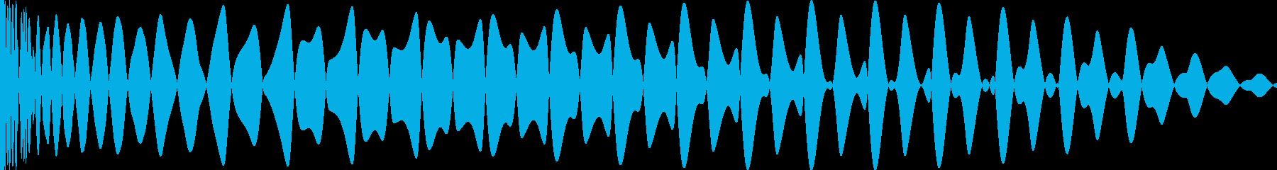 EDMキー入り(F)キックです。の再生済みの波形