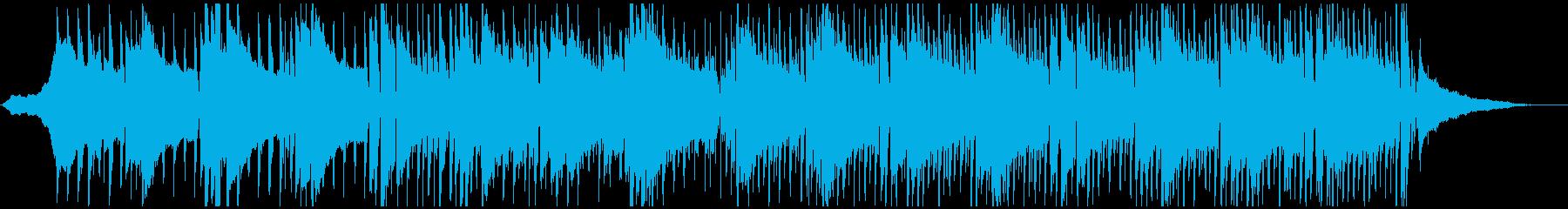 透明感のあるコーポレート系BGMの再生済みの波形