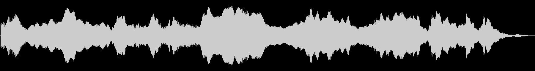 ドローン ミステリー02の未再生の波形