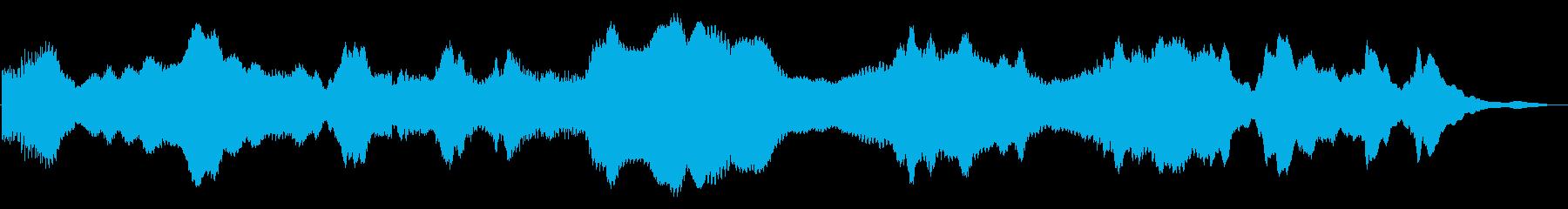 ドローン ミステリー02の再生済みの波形