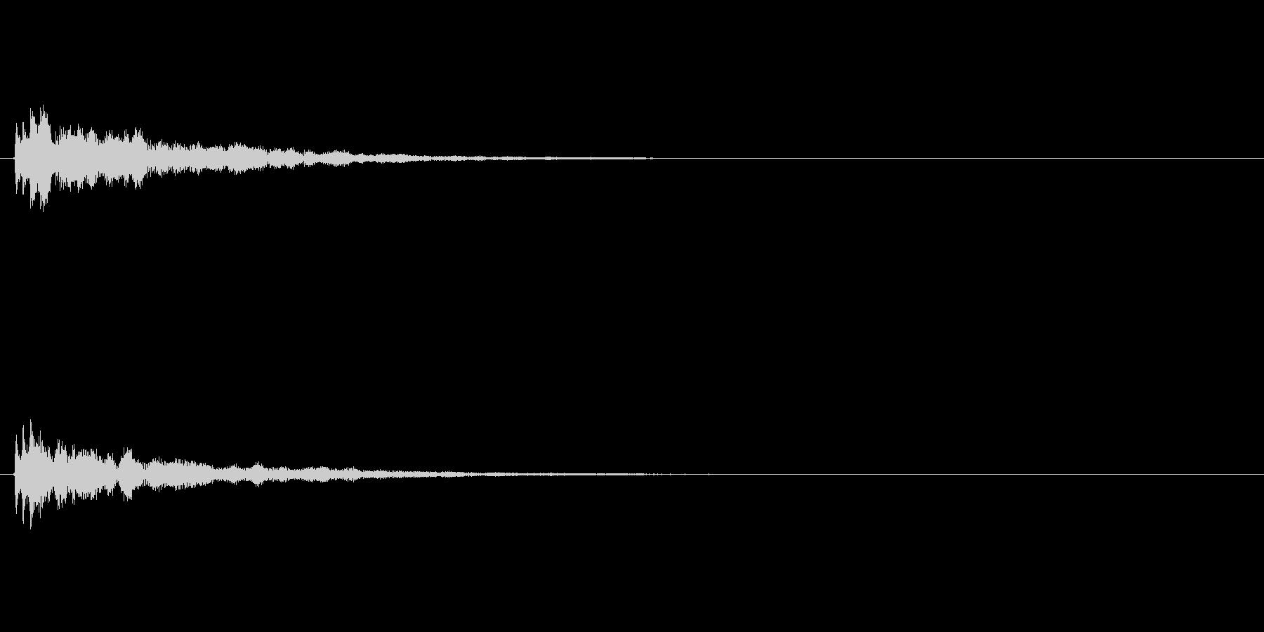 サウンドロゴ(企業ロゴ)_021の未再生の波形