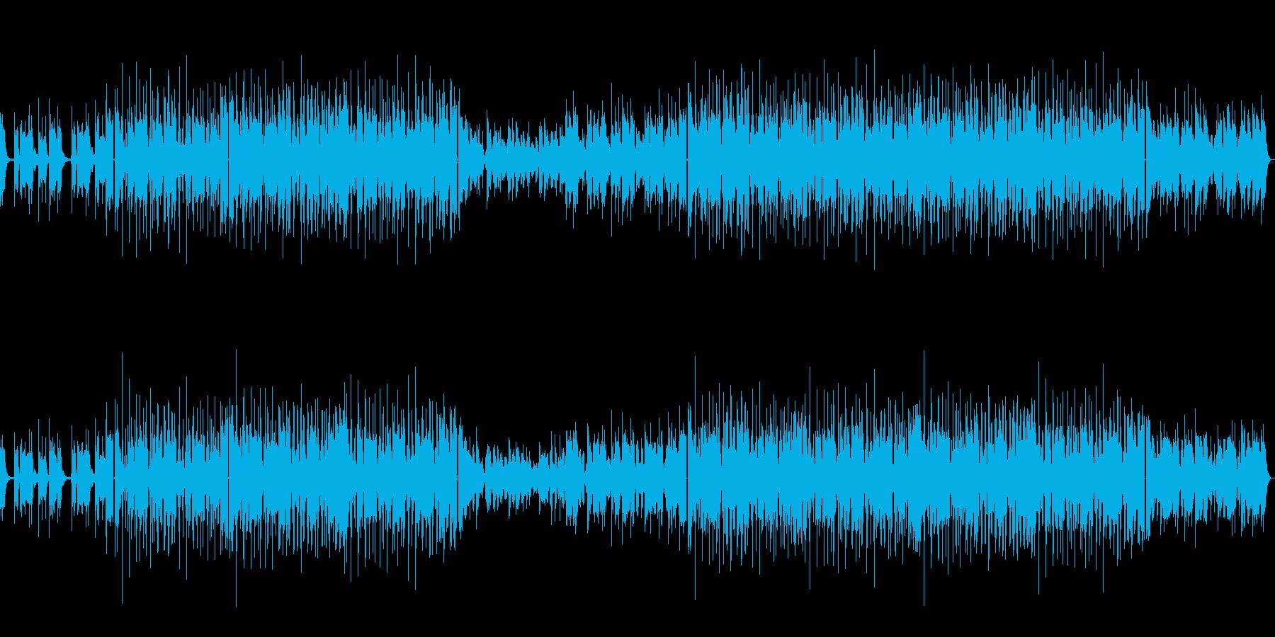 おしゃれでクール、大人なジャズの再生済みの波形