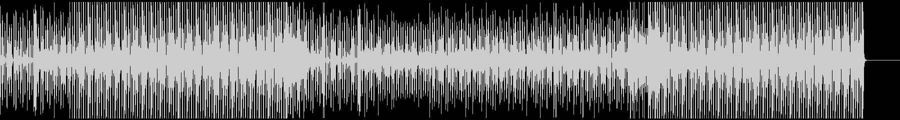 近未来を感じさせる説明動画のBGMに最適の未再生の波形