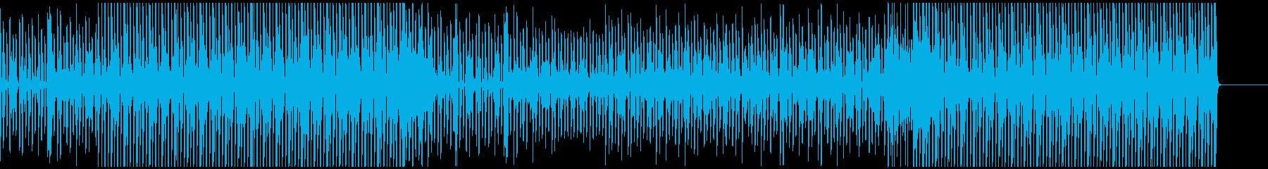 近未来を感じさせる説明動画のBGMに最適の再生済みの波形