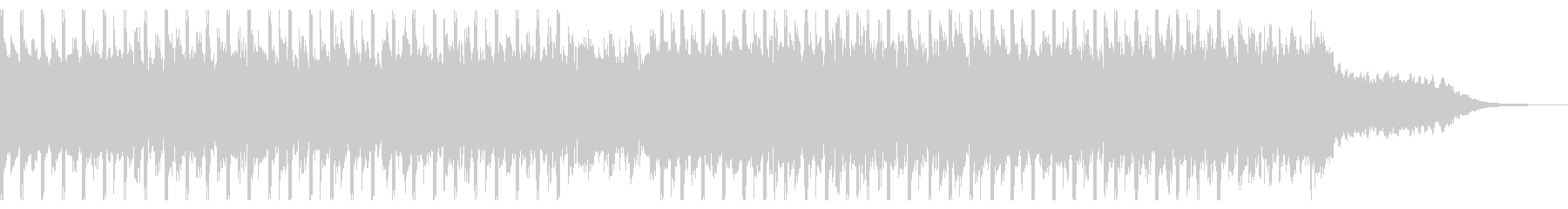 アチーブメント(40秒)の未再生の波形