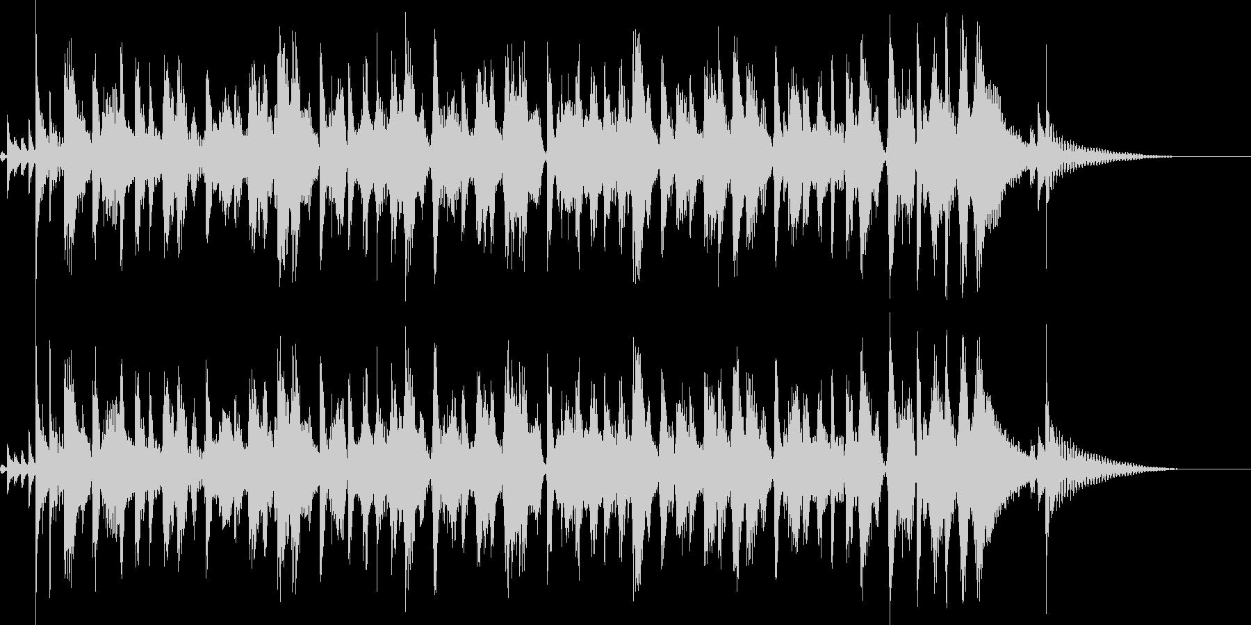 トランペットのマーチング風なジングルの未再生の波形